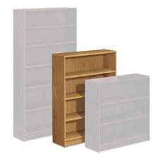 HON® 1890 Series Bookcase - Four Shelf - 36w x 11 1/2d x 48 3/4h - Harvest