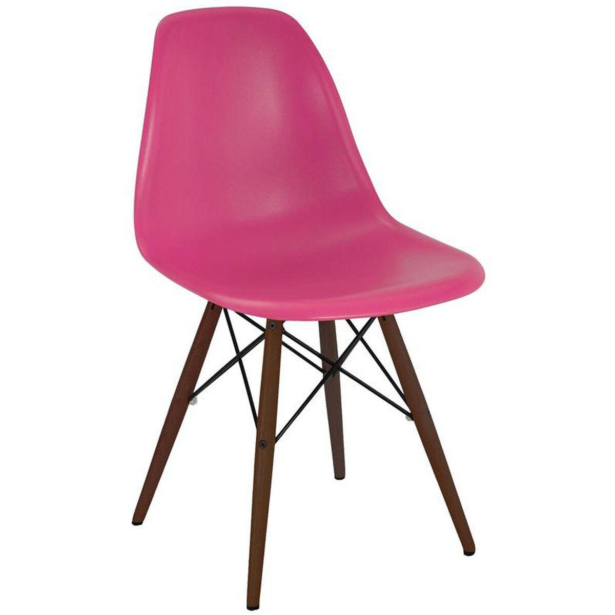 Set Of 2 Pink Side Chair Ls 9440 Bpnkwal Bizchair Com