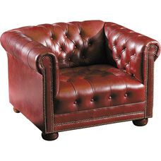 Quick Ship Chesterfield Club Chair