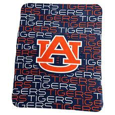 Auburn University Team Logo Classic Fleece Throw