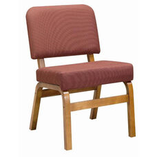 3845 Fellowship Chair with Upholstered Back & Seat - Grade 2