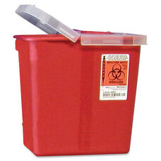 Covidien Kendall Sharps Containers with Hinged Lid - 2 Gallon
