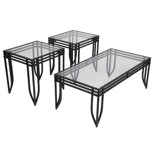 Our Signature Design by Ashley Exeter 3 Piece Occasional Table Set is on sale now.