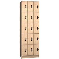 15 Compartment Storage w/Doors