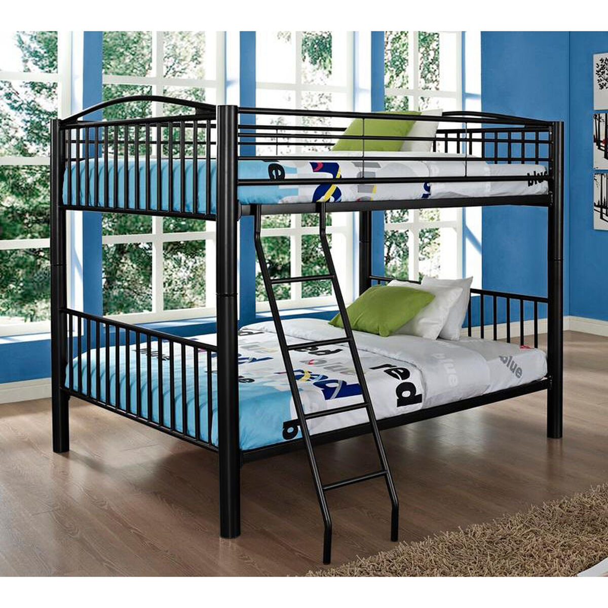 Metal Bunk Bed Full Over Full 938 137 Bizchair Com