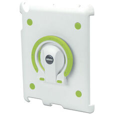 MultiStand for iPad 2 - White Shell with White and Green Ring