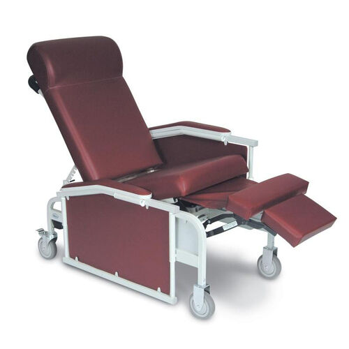 Our Drop Arm Convalescent Recliner 3 Positions - No Tray is on sale now.
