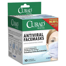 Medline Curad Antiviral Medical Face Mask