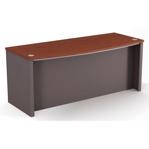 Our Connexion Executive Desk with Wire Management and Modesty Panel - Slate is on sale now.