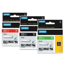 Dymo White on Black Color Coded Label - 0.47