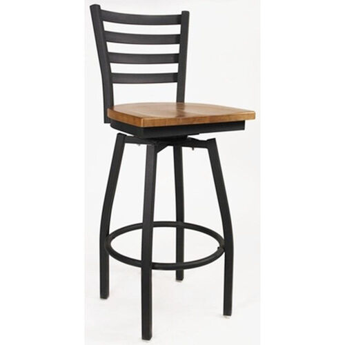 Our Boggs Series Armless Swivel Barstool with Steel Frame and Wood Seat is on sale now.