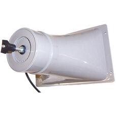 Wide Range Add On Horn Speaker with Side Mount Hardware - Black - 11