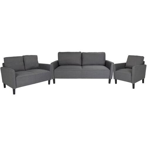 Washington Park 3 Piece Upholstered Set