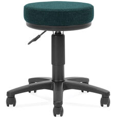 Adjustable Height UtiliStool with Stain Resistant Fabric - Teal