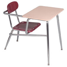 Legacy Series Combination 17.5'' Chair Desk and Arm