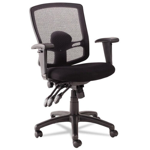 Our Alera® Etros Series Petite Mid-Back Multifunction Mesh Chair - Black is on sale now.