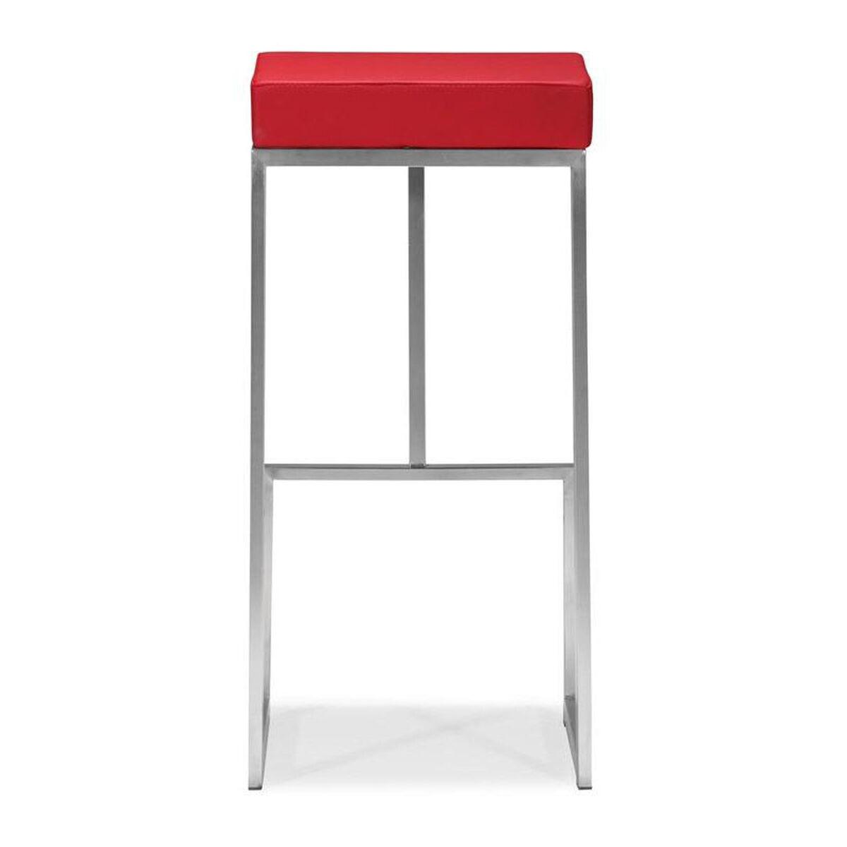 Darwen Red Barstool 300047 Bizchair Com
