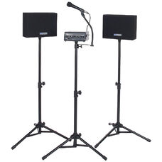 Voice Carrier with Wireless 50 Watt Speakers and Microphone - 30
