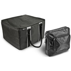 Portable File Tote with One Tablet Case