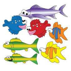 School Of Fish Wall Sticker-Left