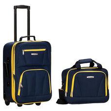 Rockland 2 Pc. Luggage Set - Navy