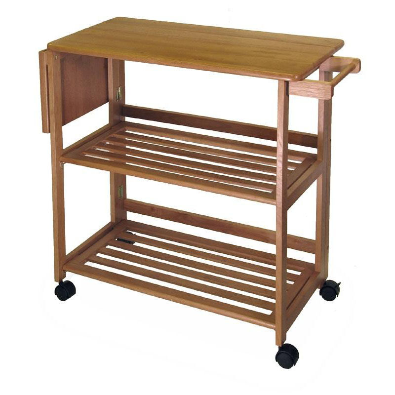 ... Our Basics Kitchen Cart In Light Oak Is On Sale Now.