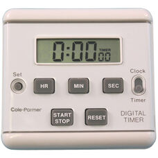 Multi-Functional Digital Electronic Display Clip-on Clock Timer with Alarm - 8