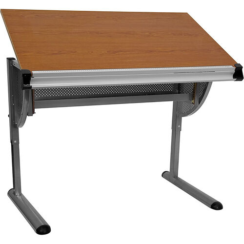 Our Adjustable Drawing and Drafting Table with Pewter Frame is on sale now.