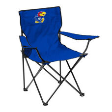 University of Kansas Team Logo Folding Quad Chair