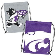 Kansas State University Team Logo Doubleheader Drawstring Backsack