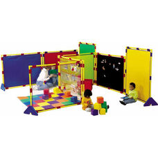 Big Screen Rainbow and Activity Playpanel Set - 60