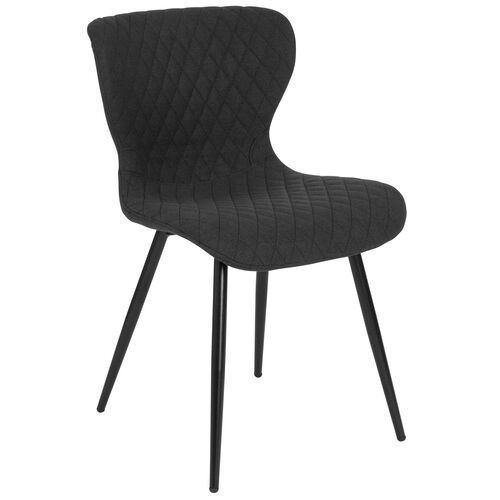 Our Bristol Contemporary Upholstered Chair in Black Fabric is on sale now.