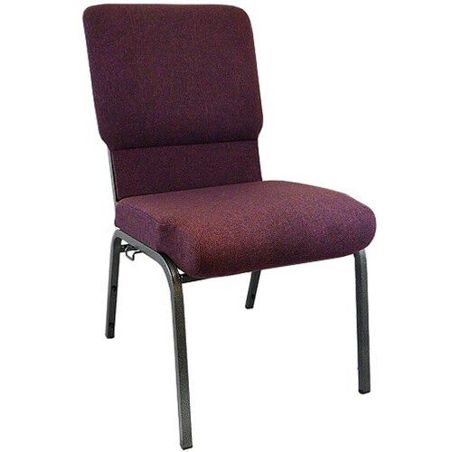 Our Advantage Grape / Amethyst Church Chairs 18.5 in. Wide is on sale now.