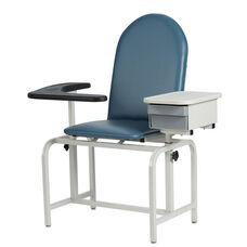 Padded Blood Drawing Chair with Drawer