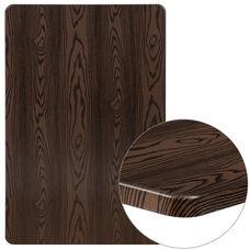 """30"""" x 48"""" Rectangular Rustic Wood Laminate Table Top"""