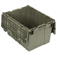 21.5''D x 15.25''W x 12.75''H Heavy Duty Attached Top Container