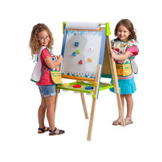 3 in 1 Art Easel with Adjustable Height Legs and Paint Cup Storage Tray