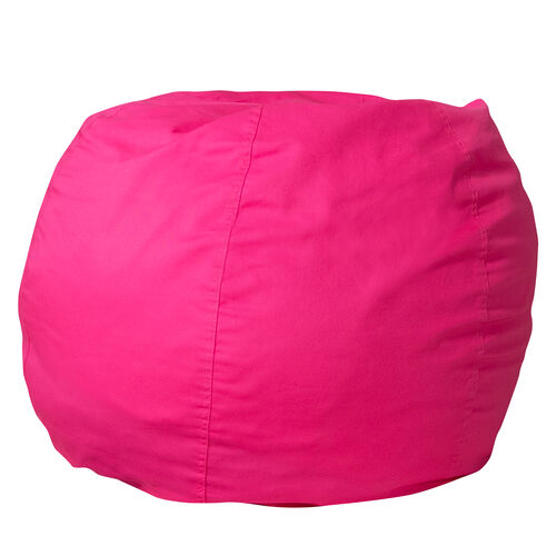 Our Small Solid Hot Pink Bean Bag Chair for Kids and Teens is on sale now.
