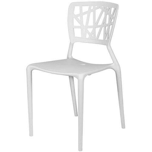 Our Phoenix Outdoor Stackable Armless Side Chair -White is on sale now.