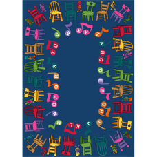 Musical Chairs Rug