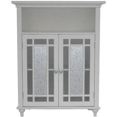 Windsor Double Door Floor Cabinet - White