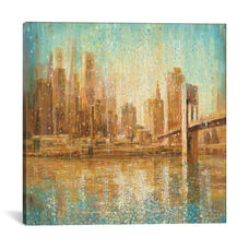 Champagne City by Danhui Nai Gallery Wrapped Canvas Artwork