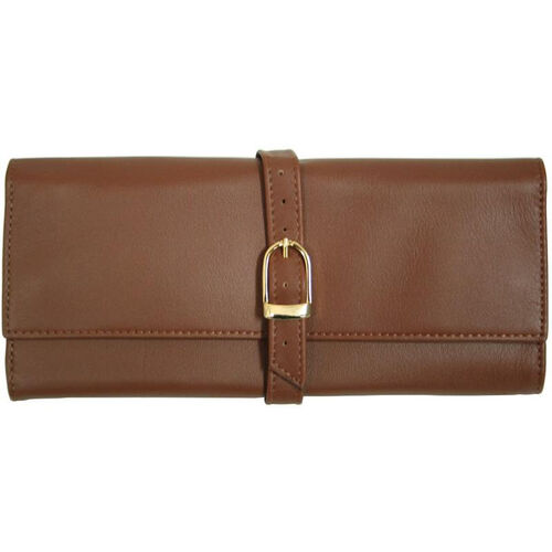 Our Jewelry Roll - Top Grain Nappa Leather - Tan is on sale now.