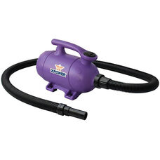 B-2 Pro-at-Home 2-Speed Pet Dryer and Vacuum with 6 Nozzle Accessories and 2 HP - Purple
