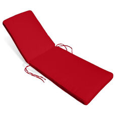 Sunrise Chaise Lounge Cushion - Logo Red