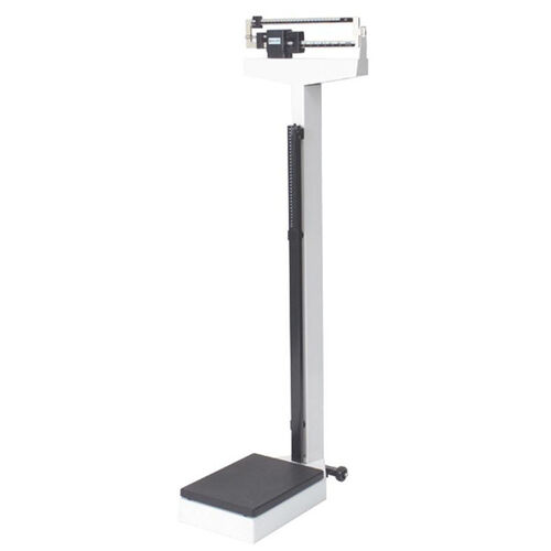 Our White Steel Health Scale with Easy to Read Dual Beam for Height and Weight - 440 lb Capacity is on sale now.