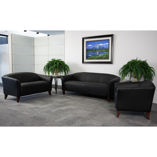 HERCULES Imperial Series Reception Set with Cherry Wood Feet