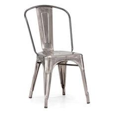 Elio Chair in Gunmetal