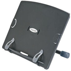 Ergo Rotatable Book and Copy Desktop Stand - Black