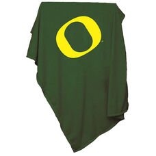 University of Oregon Team Logo Sweatshirt Blanket